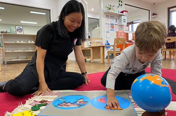 kindergarten sensorial
