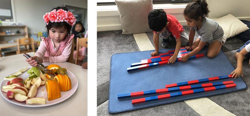 kids doing activities